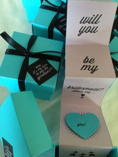 Will You Be My Bridal Party Diy Projects Pinterest Parties Maids And Box