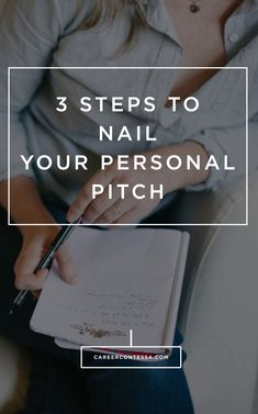 It can be intimidating to create a killer personal pitch. How one woman learned the lesson the hard way and her fresh tips for you. Career advice and job tips
