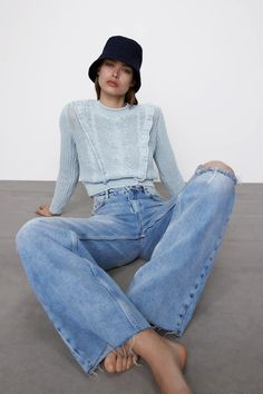 Zara, Mom Jeans, Fashion Outfits, Pants, Clothes, Style, Trouser Pants, Outfits, Swag
