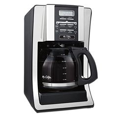 Mr. Coffee BVMC-SJX33GT 12-Cup Programmable Coffeemaker, Chrome ** Check this awesome product @ http://www.amazon.com/gp/product/B0047Y0UQO/?tag=lizloveshoes-20&prw=280716025212