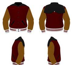 Build Your Jacket cardinal, vegas gold and black