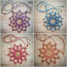 Check out this item in my Etsy shop https://www.etsy.com/au/listing/474541285/medicine-mandala-grid-chakra-necklaces