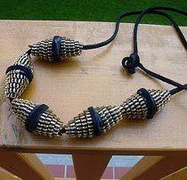 Zipper Bead Necklace