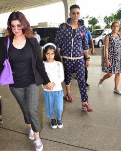 Akshay Kumar jet off to London with wife Twinkle Khanna and daughter Nitara for vacation - HungryBoo