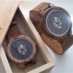 Drevené hodinky TECHNO Krabi, Wood Watch, Techno, Watches, Retro, Leather, Accessories, Wooden Clock, Wristwatches