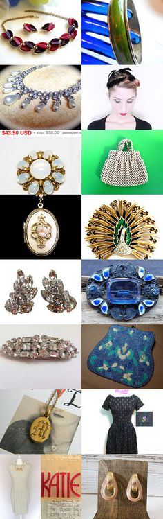 Hot Flashes with Vintage Jewelry and Fashion from