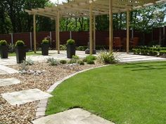 small garden designs low maintenance - Google Search