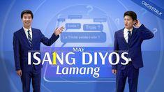 "Tagalog Christian Crosstalk | ""May Isang Diyos Lamang"" Christian Music Videos, Christian Movies, Films Chrétiens, Saint Esprit, My Salvation, Worship Songs, Tagalog, Apps, Spectacle"