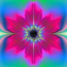 fractal floral design