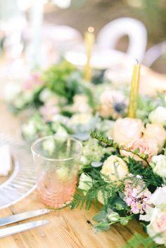 Pastel tablescape | SouthBound Bride www.southboundbride.com/up-away-styled-engagement-by-beatrix-events-louise-vorster  Credit: Louise Vorster