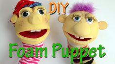 Ana DIY Crafts - How to make a Foam Puppet Ana | DIY Crafts.