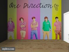 One Direction Room Decor | one direction bedroom - 3D design by stiien on Wanelo