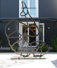 Shany van den Berg | Work Den, Sculptures, Steel, Steel Grades, Sculpture, Iron