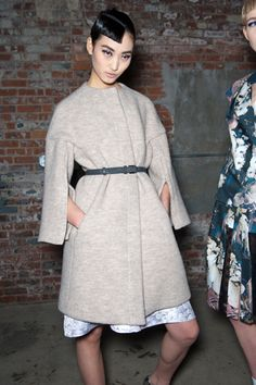 Thakoon. Backstage At New York Fashion Week