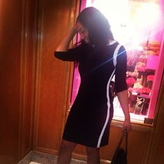 tuxedo dress Black with white trim dress chaps Dresses