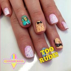 And these NSFW nails.   29 Spectacular Nail Art Designs You Need In Your Life