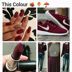 Maroon/burgundy Color 3