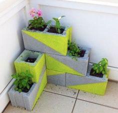 Faça você mesma: jardineira criativa!