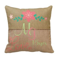 Any years married Anniversary Commemorative Throw Pillows