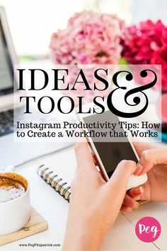 """One of the biggest challenges for Instagram is that it is only mobile, and a lot of people just get stuck on """"I just don't even know what to post or how to post."""" They don't know any great shortcuts or have a workflow. My goal for you when you are done with this post is to have an idea how to create shortcuts for yourself and get into the habit of regularly posting on Instagram. You'll be to really be ready to roll with your Instagram productivity."""