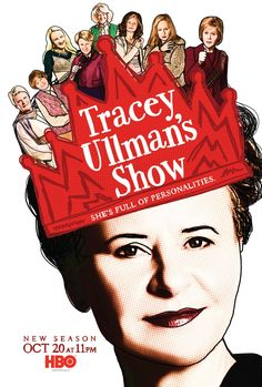 Tracey Ullman in Tracey Ullman's Show Second Season, Season 2, The Tracey Ullman Show, Comedy Series, Pop Singers, Female Images, Streaming Movies, The Simpsons, Good Movies