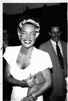 Carmen Miranda....in 1953, she began suffering from acute depression, and underwent electroshock therapy, and when that failed to cure her, her physician suggested a return visit to Brazil. Accompanied by her sister Aurora, she arrived in Rio de Janeiro on 3 December 1954, her first visit home in 14 years. When she arrived, she was pleased to be greeted by her fans. She stayed 4 months in Brazil. Recovered, she returned to the United States on 4 April 1955.
