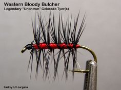 Western Bloody Butcher (1940s Pattern) Originated By: See Note Tied By: Larry O Jurgens Hook: TMC 100, TMC 101 Size: 10 ~ 20 Thread: ...