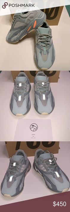 c1b0a5816bc01 Yeezy boost 700 men s size 6.5 women s 8 Worn once for one hour before  realizing they