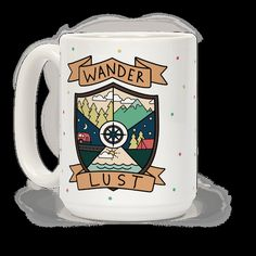 This coffee mug is perfect for the camper, traveling free spirit, or hiking lover in all of us. If your life is full of travel, camp fires and living out of your car - you had better show it off and let everyone know about the amazing adventures you have been on. Be proud of your bohemian lifestyle and the roads it has led you on.
