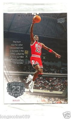 2009/10 Upper Deck Jordan Legacy Jumbo 3 1/2 x 5 Card.
