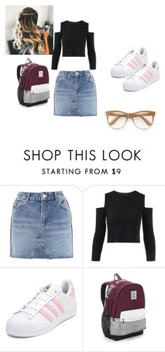 """Disney"" by grace-dxvii on Polyvore featuring Topshop, adidas, Victoria's Secret and Wildfox"
