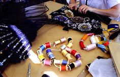 The making of a dress from Chanel Fall/Winter 2002 Haute Couture