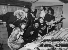 Run-D.M.C., Aerosmith, Russell Simmons, and Rick Rubin; New York, 1986 Photo by Lloyd Nelson Def Jam Recordings, Rizzoli