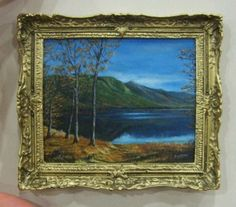 Kiva Atkinson - miniature oil painting
