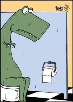 Rubes, Short Dinosaur Arms Create Toilet Issues, Officially Licensed, x Magnet Funny Pix, Funny Signs, You Funny, Haha Funny, Funny Cute, Funny Jokes, Funny Pictures, Hilarious, Funny T Rex