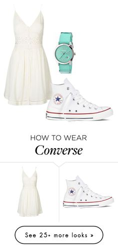 """""""Untitled #94"""" by marythecheery on Polyvore featuring Topshop, Converse and Crayo"""