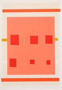 Imi Knoebel - Untitled (Pink) 1996-1997