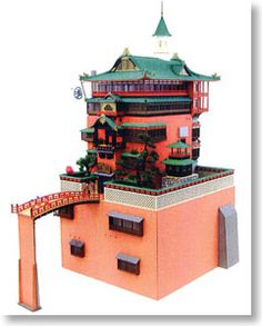 [Miniatuart] Limited Edition `Spirited Away` Aburaya (Unassembled Kit) (Model Train) Sankei MK07-10 Miniatuart Kit|Limited Edition N Scale|1/150 | approx. $600 and it's sold out!