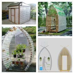 How to Build a Greenhouse Made From Plastic Bottles 7