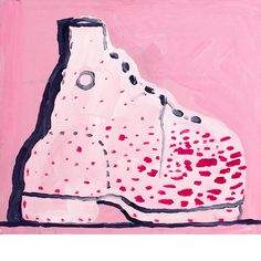 philip guston Untitled (Shoe), 1968 [acrylic on panel]