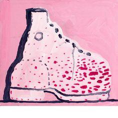 philip guston Untitled (Shoe), 1968 [acrylic on panel]