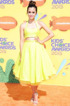 Kids, tweens and young-at-heart grown ups nostalgic for slime watched their favorite stars walk the orange carpet at Nickelodeon's annual awards show on March Megan Nicole, Stefanie Scott, Becky G, Detroit Become Human, Carrie Fisher, Sabrina Carpenter, Choice Awards, Celebs, Celebrities