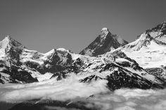 "The Matterhorm from ""La Pleine Morte""(Crans Montana) by eriupad Zermatt, Climbers, Montana, Mount Everest, Travel, Death, Photos, Basque, Flathead Lake Montana"