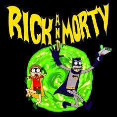 Rick and Morty Batman Reality - NeatoShop