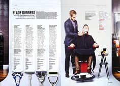"The July issue of Wired magazine in the UK ran a ""Best Wet Shave Razor"" test where they invited Brent Pankhurst, founder of the barbershop Pankhurst London, to trial four leading consumer razors. Wired also 'shaved' as many balloons with the razors and a Clinique Shave Gel in a timed 60 [...]"