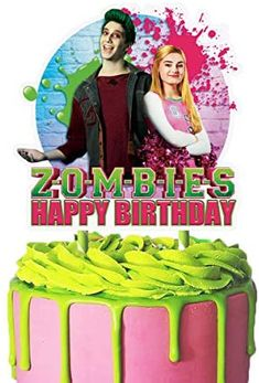 Zombie Birthday, Happy Birthday, Birthday Supplies, Birthday Ideas, Movie Themes, Tray Decor, Cupcake Toppers, Cake Decorating, Favors