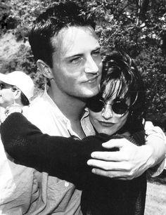 Chandler and Monica / Matt and Courteney