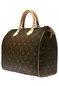 Louis Vuitton speedy bag.. This will be my next bag purchase!