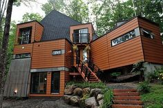 Shipping Container Home..........don't need to try to go to the site, because there is nothing now..........
