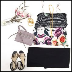 The perfect outfit for date night or girls night out! Available on our website at jessboutique.com